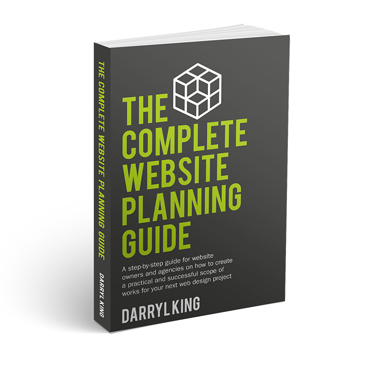 The Complete Website Planning Guide Cover 3D medium