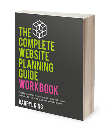 The Complete Website Planning Guide Workbook Image